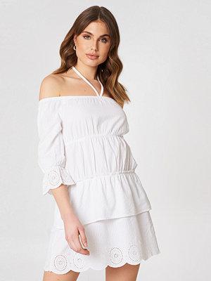 Debiflue x NA-KD Off Shoulder String Dress