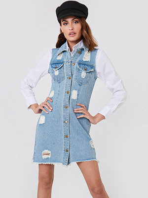 Minkpink Dust Storm Denim Dress