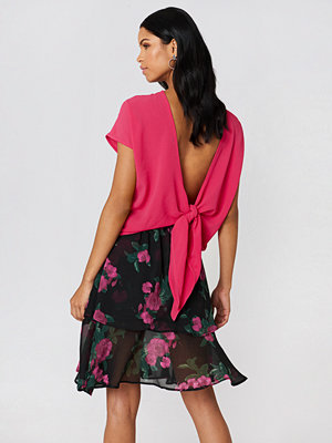 Rut & Circle Back Knot Blouse rosa