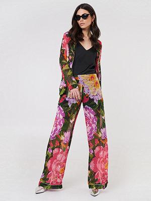 Twinset mönstrade byxor Pantalone Summer Garden Pants