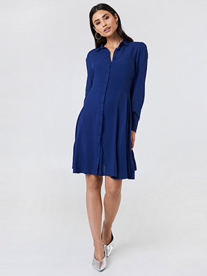 Trendyol Long Sleeve Midi Dress blå