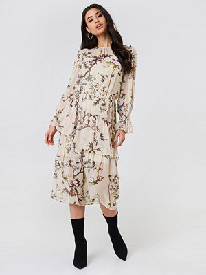Trendyol Ruffle Detail Midi Dress