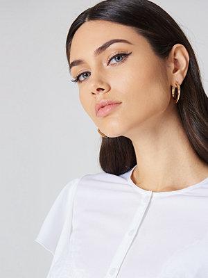 NA-KD Accessories Chunky Hoop Earrings - Smycken