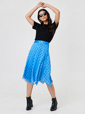 Trendyol Dott Midi Skirt - Midikjolar