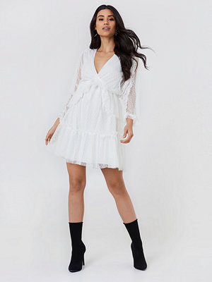Trendyol Frill Wrapped Midi Dress