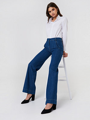 Trendyol High Waist Flare Jeans - Jeans