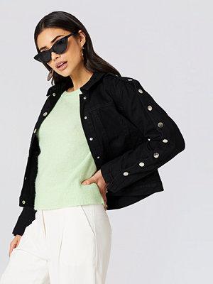 Trendyol Buttoned Sleeve Denim Jacket