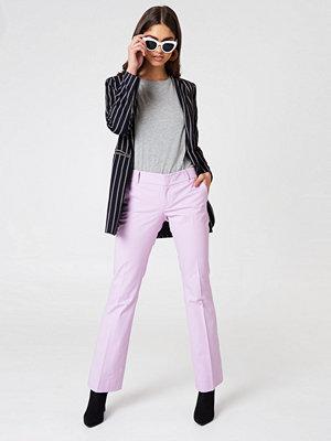 Twinset omönstrade byxor Pantalone Canvas Pants