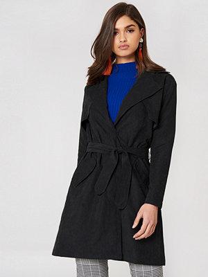 Saint Tropez Tie Waist Trench Coat