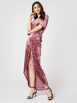 Moves Ilene Velvet Dress rosa