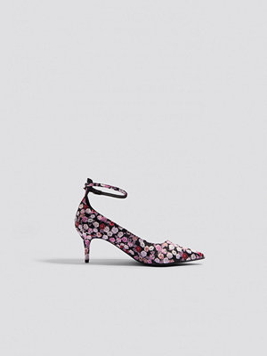 Pumps & klackskor - NA-KD Shoes Satin Ankle Strap Pumps multicolor