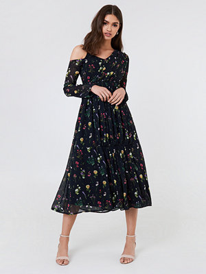 NA-KD Boho Wrap Top Asymmetric Dress - Festklänningar