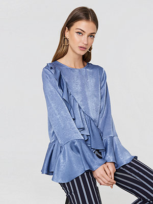 Rut & Circle Hanna Frill Top - Blusar