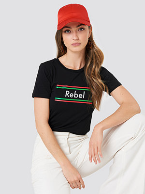 Colourful Rebel Rebel Stripes Classic Tee