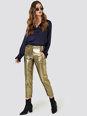 Twinset randiga byxor Pantalone Jacquard Pants