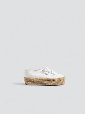 Sneakers & streetskor - Superga Cotropew 2790 vit