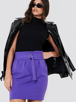 Trendyol Belted Highwaist Mini Skirt
