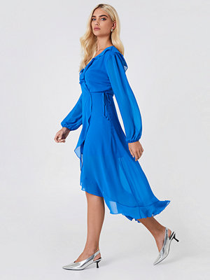 Trendyol Wrap Around Frill Dress