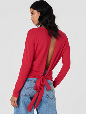 NA-KD Tied Back Detail Sweater