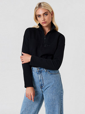 NA-KD Urban Front Zipper Sweatshirt