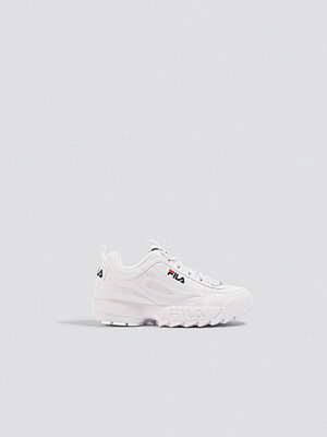 Sneakers & streetskor - Fila Disruptor Low Wmn Sneaker vit