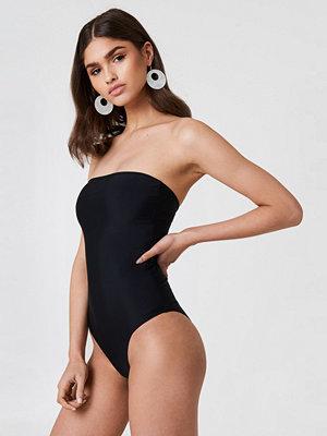 NA-KD Swimwear Bandeau Swimsuit