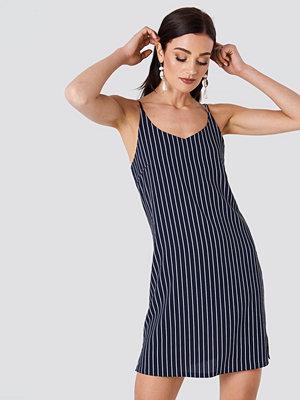 Rut & Circle Mira Stripe Dress blå