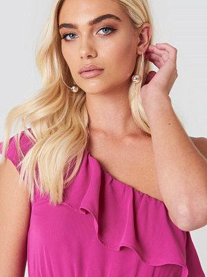 Andrea Hedenstedt x NA-KD smycke Pearl Hoop Earrings