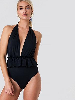 Trendyol Frill Waist Swimsuit - Baddräkter