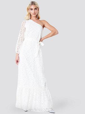 Trendyol Floral One Shoulder Maxi Dress - Långklänningar