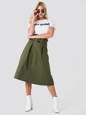Trendyol Paperbag Midi Skirt - Midikjolar