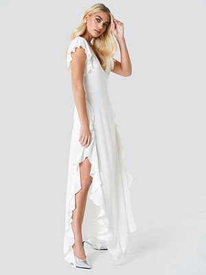 Trendyol Sheer Wrap Maxi Dress - Maxiklänningar
