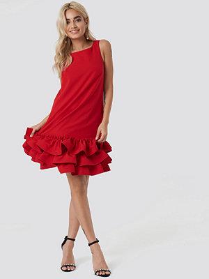 Trendyol Frill Bottom Mini Dress - Miniklänningar