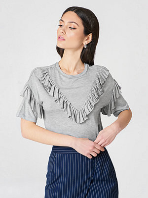 Rut & Circle Siri Frill Tee - T-shirts