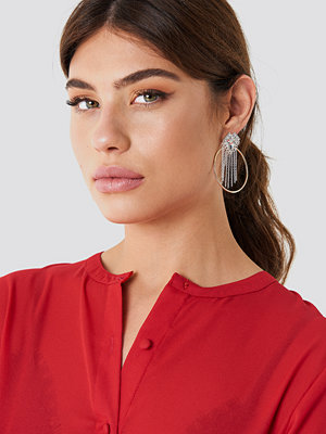 NA-KD Accessories smycke Top Sparkle Hoop Earring