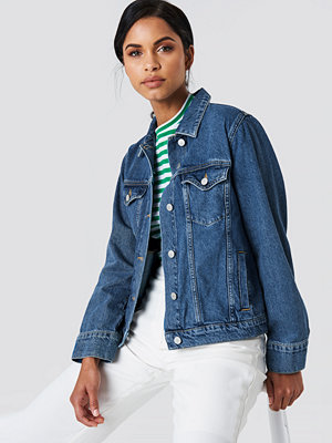 NA-KD Trend Regular Denim Jacket - Jeansjackor