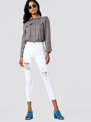 Trendyol Ripped Mom Jeans