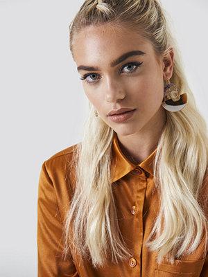 NA-KD Boho Retro Multicolor Halfmoon Earrings - Smycken