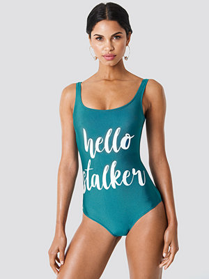 Trendyol Hello Stalker Swimsuit - Baddräkter