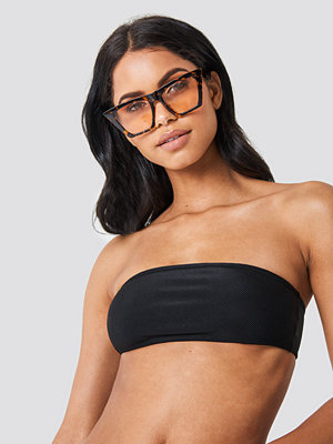 NA-KD Swimwear Structured Bandeau Bikini Top