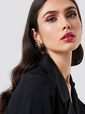 NA-KD Accessories Wire Blossom Earrings - Smycken