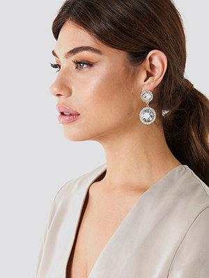 NA-KD Accessories smycke Big Double Cristal Earrings
