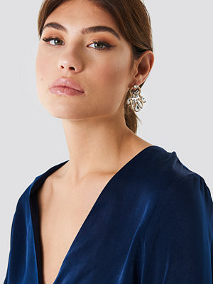 NA-KD Accessories smycke Cristal Marquise Rope Ring Earrings