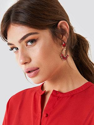 NA-KD Boho Colorful Marquise Ring Earrings - Smycken