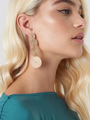 NA-KD Boho Multi Spiral Ropes Earrings - Smycken