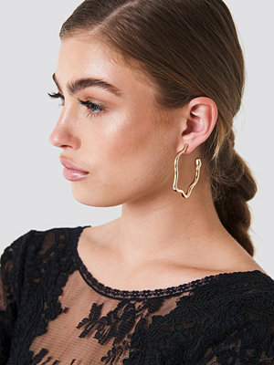 NA-KD Accessories Big Snake Earrings - Smycken