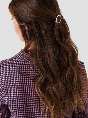 NA-KD Accessories smycke Oval Uneven Hairclip