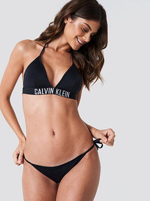 Calvin Klein Cheeky String Side Tie Bikini Panties svart