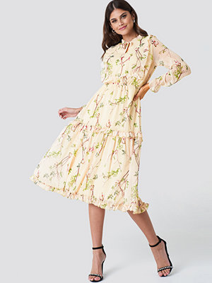 Trendyol Printed Midi Dress