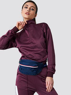 NA-KD Urban Front Zipper Track Sweatshirt